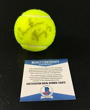 MARTINA HINGIS SIGNED AUTHENTIC AUTOGRAPH WIMBLEDON TENNIS BALL BECKETT BAS G