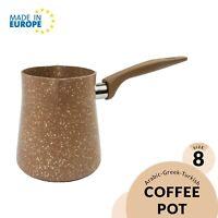 Granite Turkish Coffee Pot, Perfect Design for Turkish Arabic Coffee, 13-18 oz