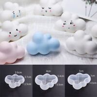 1pc Cloud Shape Candle Mold Silicone Molds Jewelry Soap Making Mold Craft DIY