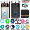 WiFi Wireless Doorbell Video Two-Way Talk Smart PIR Door Bell Security Camera US