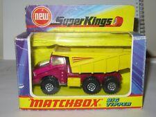 MATCHBOX SUPERKINGS K-4 BIG TIPPER MIB