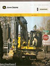 Equipment Brochure - John Deere - 135D 225D Lc Excavator c2010 - French (E1874)