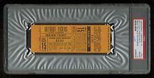 PSA 10 MARK FIDRYCH 1st WIN  May 15th 1976 Unused Detroit Tiger Baseball Ticket