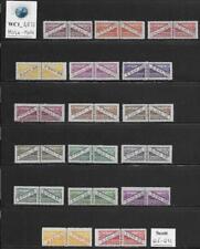 WC1_4872. SAN MARINO. 1945-46 PARCEL POST set. Scott Q16-Q32. MVLH-MNH
