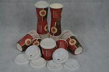 Set 1000 Kaffeebecher + 1000 Deckel 0,2L Bohne Coffee to Go Becher Pappbecher