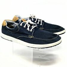 Clarks Mens Casual Sneakers 10M Blue