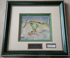 """Disney Goofy OPC """"Art of Skiing"""" 1941 with Bill Justice Autograph"""