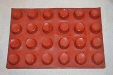 Maé Commercial 107ml Silicon MUFFIN, CUPCAKE, CAKE  * 24 Molds Flexipan
