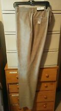 Sharp NWT JosABank (Joseph Coll) Corduroy Pants Tan 36x36L Unhemmed-Light weight