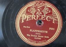 78rpm PERFECT DANCE ORCH flapperette / the doll dance PATHE PERFECT P301