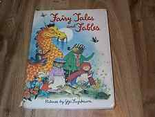 Fairy Tales And Fables - Edited by Eve Morel  HB 1979 - Gyo Fujikawa ILLUS