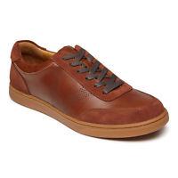 Vionic Mens Mott Brok Dark Brown Fashion Sneaker Size 12