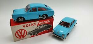 Tin Toy  2 x ICHIMURA Volkswagen 1600TL 1 wind up  / 1 friction