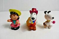 Lot Of 3 Vintage Peanuts Toys