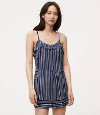 Ann Taylor Womens Striped Jumpsuits Rompers Ebay