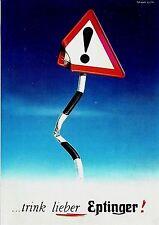 Original vintage poster print EPTINGER WATER SIGN 1947 Leupin