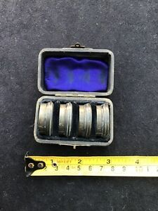 VINTAGE  VERY OLD SET OF FOUR CAMERA LENSES IN WELL MADE WOODEN BOX. No's 1-4