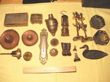Collectable Brass and Copper Items