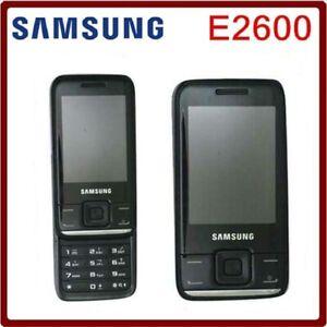 "E2600 Samsung GT-E2600 Mobile Phone 2MP TFT 2.4"" Slider Cellphone Screen"