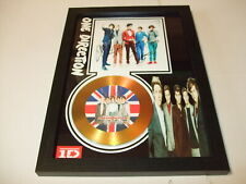ONE DIRECTION   SIGNED GOLD CD  DISC  6