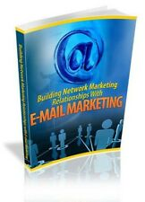 Building Network Marketing Relationships PDF eBook with Full resale rights!
