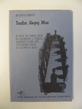 Dramatic Publishing Company Twelve Angry Men 1955 softcover booklet
