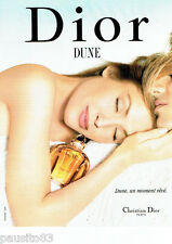 PUBLICITE ADVERTISING 026  1996  Dior  parfum Dune
