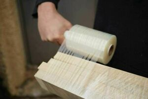 """Stretch Wrap Film with Handle 5"""" x 1000 FT 80 Gauge Shrink Banding Film 48 Pack"""