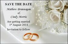 50 WEDDING Salva la Data Card-Fiori & Squilli