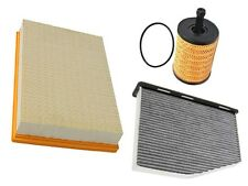 VW v6 (06-11) Air Oil Cabin Filter KIT (3 pcs) engine intake cleaner pollen gas
