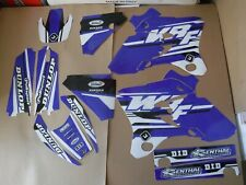 FLU DESIGNS PTS4 TEAM GRAPHICS  YAMAHA WR250F WR450F 2003 2004