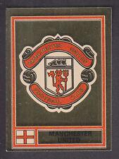 PANINI-FOOTBALL 78-Nº 226 Manchester United FOIL BADGE