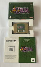 Zelda Majora's Mask Nintendo 64 N64 Game - Pal Version - Boxed - Complete
