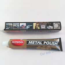 Autosol Solvol Metal Polish Shine Cleaner Protect Remove Rust Chrome Brass Steel