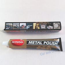 Autosol Solvol Metal Polish Shine Cleaner Protect Remove Rust Chrome Brass Steel