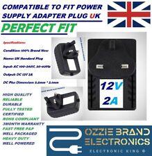 UK 12V AC/DC POWER SUPPLY ADAPTER FOR PRO SWANN-842 CAMERA DVR8-4100TM CS1202000