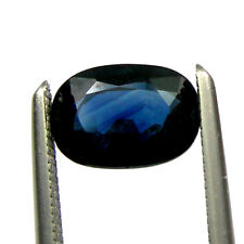 1.28 carats Natural Australian Blue Sapphire Loose Gemstone 7x5mm Oval Cut