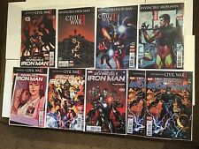 Invincible Iron Man 6, 8-14 Civil War II Tie-ins Near Mint NM Riri Williams