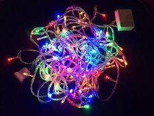8-program 33-feet 100 LED Extendable Christmas String Party Lights Multi-color