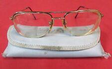 Vintage Swank Optical 135 Mariner A 466 800 Glasses w/Case Japan