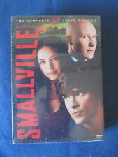 Superman Smallville Tv Series Complete Season 3 Dvd Set New/Sealed! Free Ship!