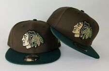 New Era Beef & Broccoli Color Chicago Black Hawks 9Fifty Snapback Hat