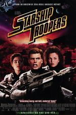 STARSHIP TROOPERS + SOLDIER MOVIE POSTER Both ORIGINAL'S 27x40 COOL SCI-FI ART!!