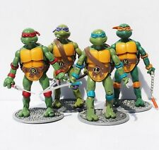 "Teenage Mutant Ninja Turtles Classic Collection 6"" Action Figures 4Pcs TMNT Toys"
