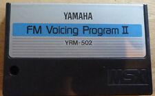 Yamaha YRM-502 Cartridge for CX5M FM Voicing Program II