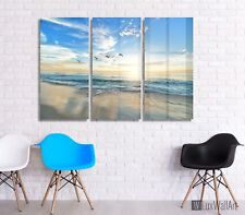 Print Home Decor Metal Wall Art Sunrise Beach