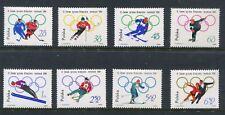 Poland Scott 1198-1205 Winter Olympics Full Set 1964 NH