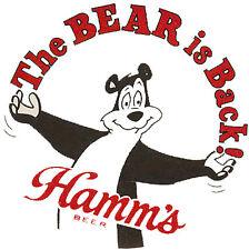 "Hamm'S ""The Bear Is Back"" Beer T Shirt Small-Xxxlarge (F)"