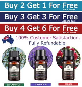 10ml Essential Oils Pure Aromatherapy Diffuser Essential Fragrances