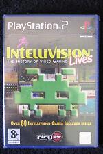 PS2 : INTELLIVISION LIVES : THE HISTORY OF VIDEO GAMING - Nuovo, risigillato !